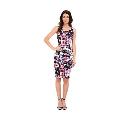 ドレス ジェシカシンプソン Jessica Simpson レディース Abstract フローラル  Midi ドレス. Print