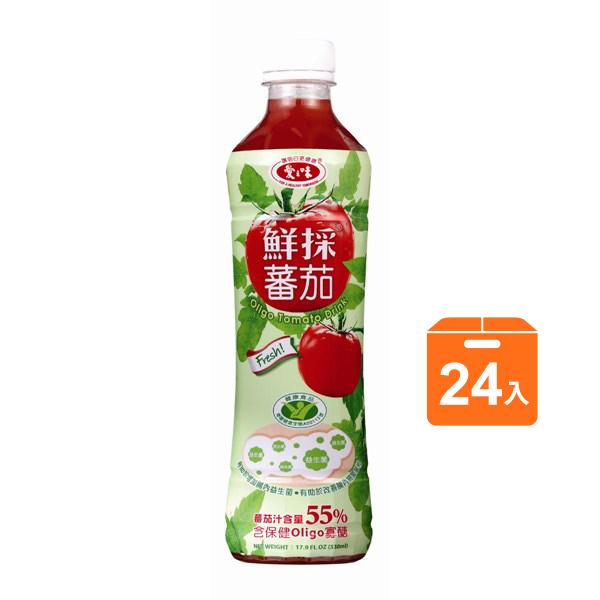 愛之味鮮採蕃茄汁oligo腸道保健530ml x24入團購組