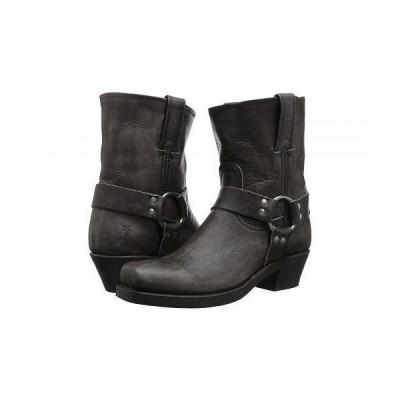 Frye フライ レディース 女性用 シューズ 靴 ブーツ ライダーブーツ Harness 8R - Smoke Washed Oiled Vintage