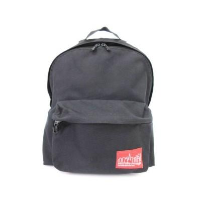 【中古】マンハッタンポーテージ Manhattan Portage リュックサック デイパック 黒 ブラック 鞄 メンズ レディース 【ベクトル 古着】