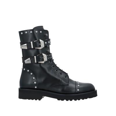 フランキー モレロ FRANKIE MORELLO ショートブーツ ブラック 41 牛革(カーフ) ショートブーツ