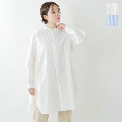 ORCIVAL オーチバル・オーシバル バンドカラーアンティークストライプシャツ rc-3794 2021ss新作