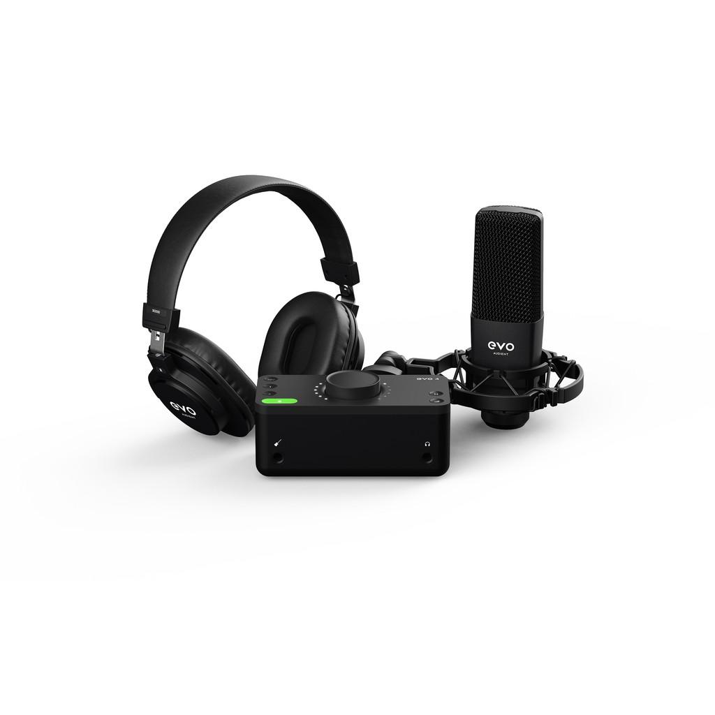 Audient EVO Start Recording Bundle 錄音介面套組 總代理公司貨 保固三年