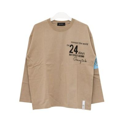 【子供服SHUSHU】腕章&バックプリントロンTRAT EFFECT(ラットエフェクト) (Tシャツ・カットソー)Kids' T-shirts