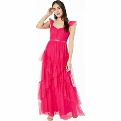 ビーシービージーマックスアズリア BCBGMAXAZRIA レディース パーティードレス ワンピース・ドレス Tulle Gown Cabaret