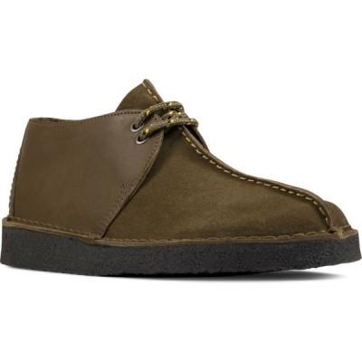 クラークス CLARKS メンズ ブーツ チャッカブーツ シューズ・靴 Desert Trek Chukka Boot Olive Combi