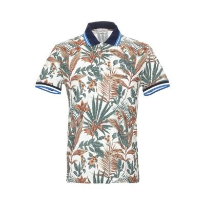 ブルックスフィールド BROOKSFIELD ポロシャツ ベージュ 46 コットン 100% ポロシャツ