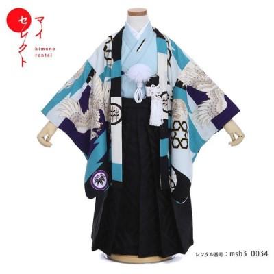 七五三 着物 3歳 男の子 レンタル JAPAN STYLE ブランド フルセット 男児 753 msb3-0034