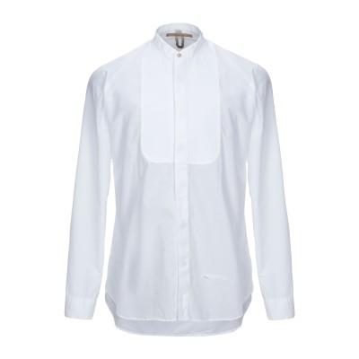 DNL シャツ ホワイト 43 コットン 100% / ナイロン シャツ