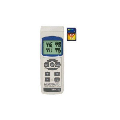 TM-947SD SDカードデータロガデジタル4ch温度計 マザーツール 【送料無料】 【破格値】PCに取り込むだけでデータ編集が可能