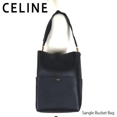 CELINE セリーヌ Sangle Bucket Bag サングル バケット バッグ トートバッグ レディース 189593AH4