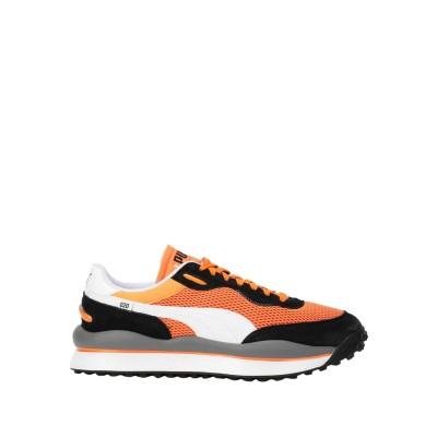プーマ PUMA スニーカー オレンジ 9 紡績繊維 スニーカー