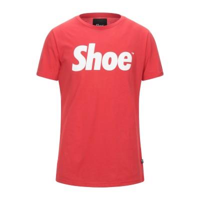 SHOESHINE T シャツ レッド XL コットン 100% T シャツ