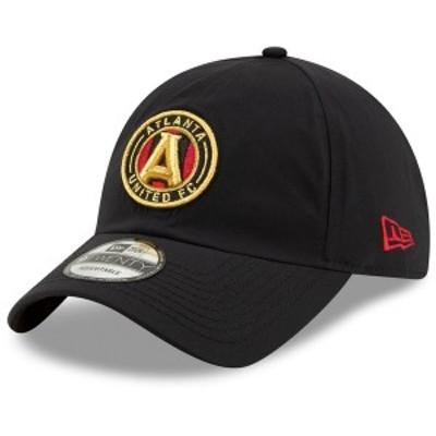 ニューエラ メンズ 帽子 アクセサリー Atlanta United FC New Era Team Gore-Tex 9TWENTY Adjustable Hat Black