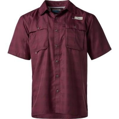 マジェランアウトドア シャツ トップス メンズ Magellan Outdoors Men's Aransas Pass Heather Plaid Fishing Shirt Red Medium 10