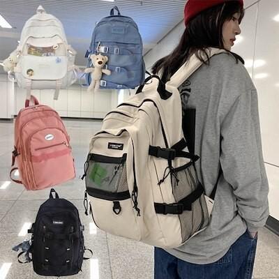 R12Y おもちゃ付 5色入 2021新品 韓国リュック 大容量カジュアルバッグ学生バッグ/修学バッグ/バック/通勤通学かごバッグ 高校生 リュック
