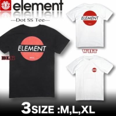 ELEMENT エレメント メンズ 半袖 Tシャツ バックプリント スケボー AI021-258