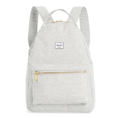 ハーシェル サプライ HERSCHEL SUPPLY CO. メンズ バックパック・リュック バッグ Nova Mid Volume Backpack Light Grey Crosshatch