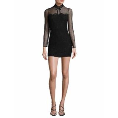 ファースト サイト レディース ワンピース Mesh Lace dress