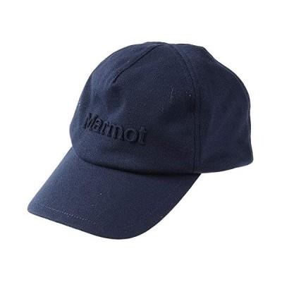 [Marmot(マーモット)]キャップ・ハット EMBOSS LOGO CAP メンズ ネイビー 日本 ONE (FREE サイズ)