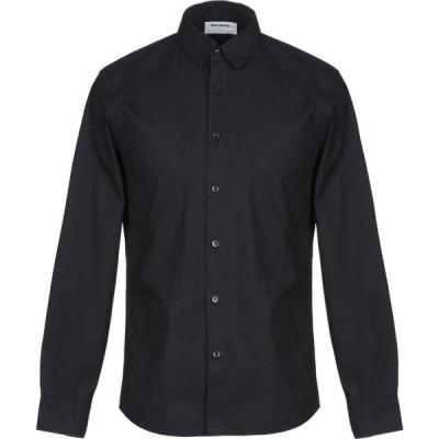 ハーモニーパリス HARMONY Paris メンズ シャツ トップス solid color shirt Dark blue