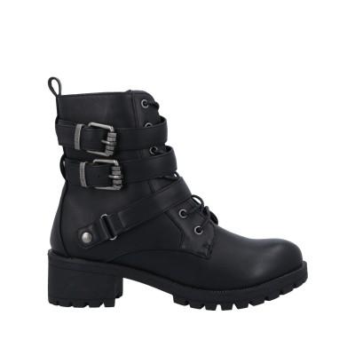 MTNG ショートブーツ ブラック 37 紡績繊維 ショートブーツ