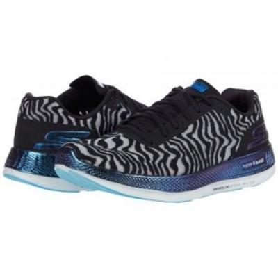 SKECHERS スケッチャーズ レディース 女性用 シューズ 靴 スニーカー 運動靴 Go Run Razor 3 Cloak Black/Blue【送料無料】