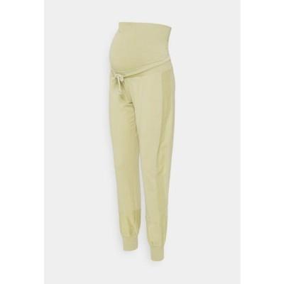 レディース ファッション MLBELMA PANTS - Tracksuit bottoms - sage green