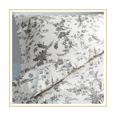 White and Grey Queen / Full Duvet Cover and 2 Pillow Cases【並行輸入品】