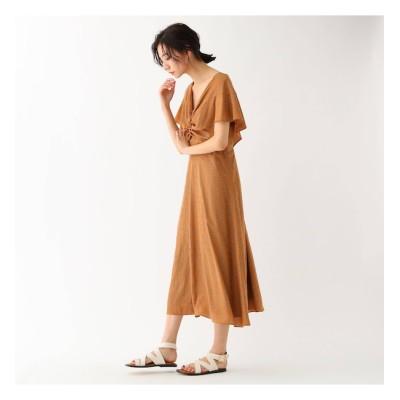 【ドレステリア/DRESSTERIOR 】 ヴィンテージ風小紋プリントドレス