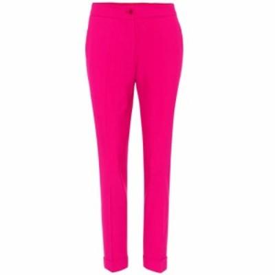 エトロ Etro レディース クロップド ボトムス・パンツ Cropped trousers Pink