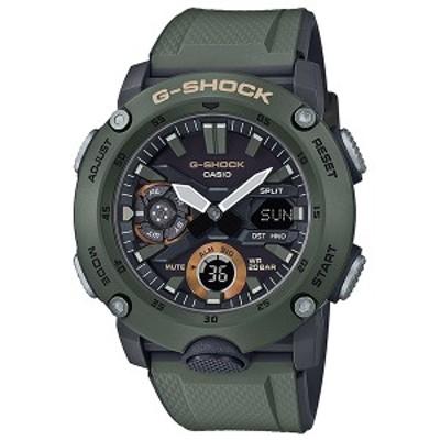 取寄品 CASIO腕時計 カシオ G-SHOCK ジーショック アナデジ アナログ&デジタル GA-2000-3AJF 人気モデル メンズ腕時計 送料無料