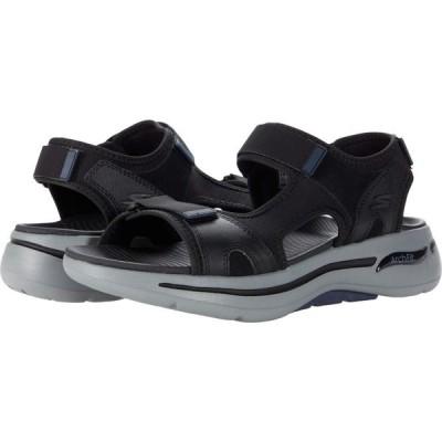 スケッチャーズ SKECHERS Performance メンズ サンダル シューズ・靴 Go Walk Arch Fit Sandal - Mission Black/Navy