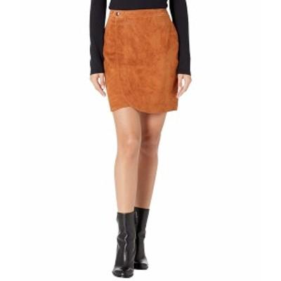 ブランクニューヨーク レディース スカート ボトムス Real Suede Wrap Skirt Sweater Weather