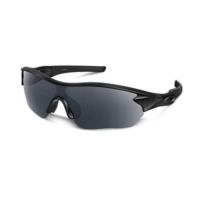 スポーツサングラス 偏光レンズ 自転車 登山 釣り 野球 ゴルフ ランニング ドライブ バイク テニス スキー 超軽量 UV400 TAC TR90