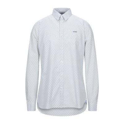 ゲス GUESS シャツ ホワイト S コットン 97% / ポリウレタン 3% シャツ