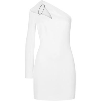 クシュニー・エ・オクス CUSHNIE ミニワンピース&ドレス ホワイト 4 レーヨン 97% / ポリウレタン 3% ミニワンピース&ドレス