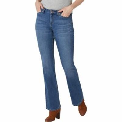 リー Lee レディース ジーンズ・デニム ブーツカット ボトムス・パンツ Regular Fit Bootcut Jeans Heritage Fade