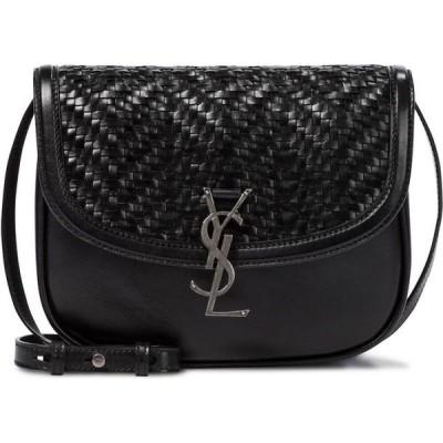 イヴ サンローラン Saint Laurent レディース ショルダーバッグ バッグ kaia medium leather shoulder bag Nero