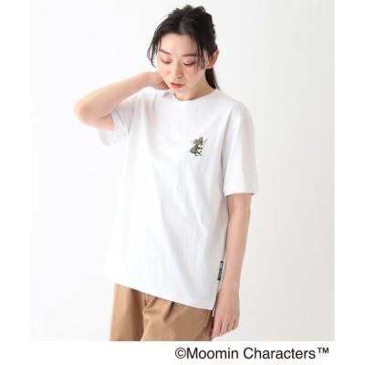 tシャツ Tシャツ MOOMIN ムーミン / ポケット刺繍 コットン半袖Tシャツ