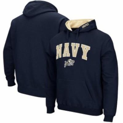 Stadium Athletic スタジアム アスレティック スポーツ用品  Navy Midshipmen Navy Big & Tall Arch & Logo Tackle Tw