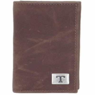 Eagles Wings イーグルス ウイングズ スポーツ用品  Tennessee Volunteers Leather Trifold Wallet w/ Concho