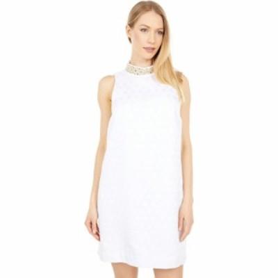 リリーピュリッツァー Lilly Pulitzer レディース ワンピース ワンピース・ドレス Brandi Shift Resort White Foil Printed Polka Dot