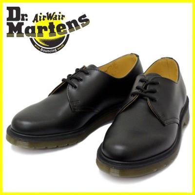 Dr.Martens(ドクターマーチン) 1461 DMS 84 3EYE GIBSON 3ホールブーツ ギブソン BLACK SMOOTH ブラック
