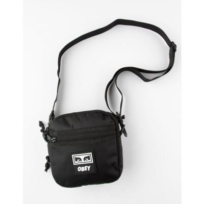 オベイ OBEY レディース ショルダーバッグ バッグ Conditions Traveler Crossbody Bag III BLACK