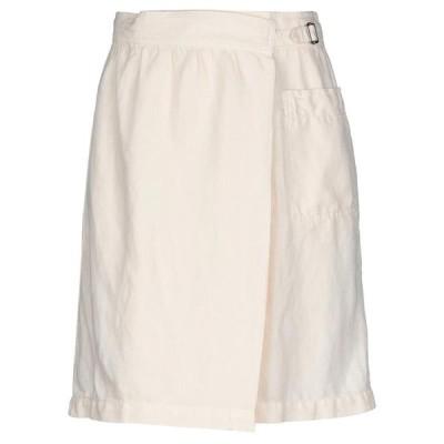 GIGUE ひざ丈スカート  レディースファッション  ボトムス  スカート  ロング、マキシ丈スカート アイボリー