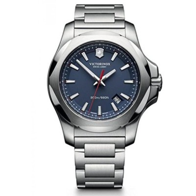 ビクトリノックス 腕時計 メンズウォッチ Victorinox Swiss Army Men's I.N.O.X. 241724.1 Silver Stainless-Steel Swiss Quartz Watch