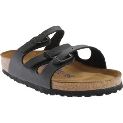 ビルケンシュトック Birkenstock レディース サンダル・ミュール シューズ・靴 Florida Birko-Flor Soft Footbed Black Birko/Flor