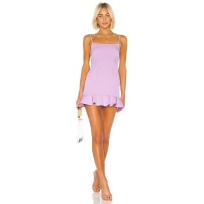 ラヴァーズフレンズ Lovers + Friends レディース ワンピース ワンピース・ドレス Teddy Mini Dress Lilac Purple