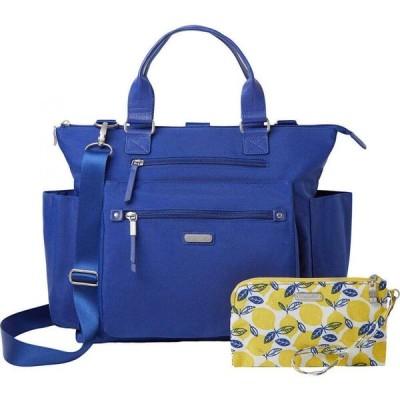 バッガリーニ Baggallini レディース バックパック・リュック リストレット バッグ New Classic 3-in-1 Convertible Backpack with RFID Phone Wristlet Cobalt
